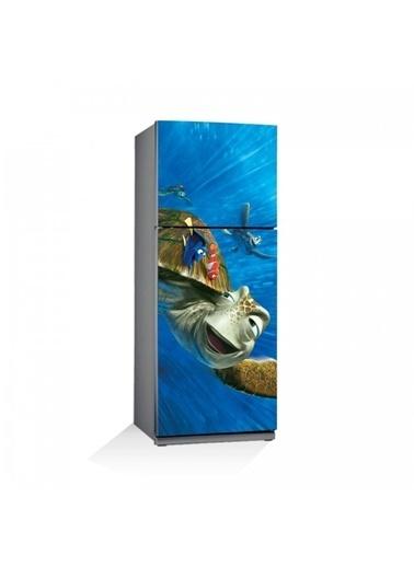 Disney Kayıp Balık Nemo-2 Buzdolabı Sticker Renkli